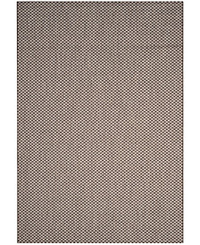 "Safavieh Courtyard Light Brown and Light Gray 6'7"" x 9'6"" Sisal Weave Area Rug"