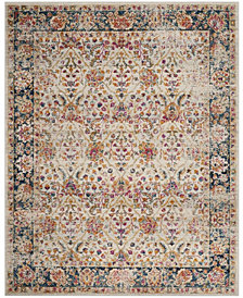 Safavieh Madison Cream and Navy 8' x 10' Area Rug