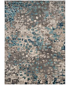Safavieh Monaco Gray and Light Blue 8' x 11' Area Rug