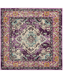 Safavieh Monaco Violet and Light Blue 5' x 5' Square Area Rug