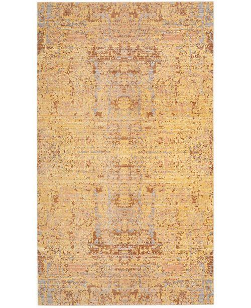 Safavieh Mystique Gold and Multi 3' x 5' Area Rug