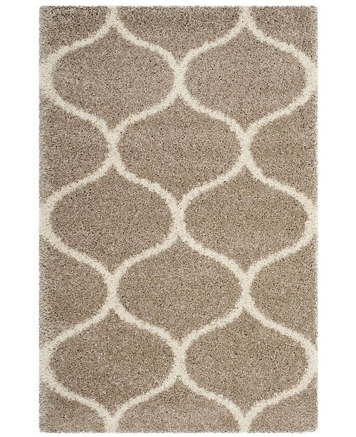 Safavieh Hudson Beige and Ivory 4' x 6' Area Rug