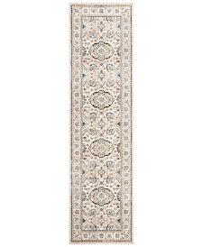 "Safavieh Vintage Persian Ivory and Light Grey 2'2"" x 8' Runner Area Rug"