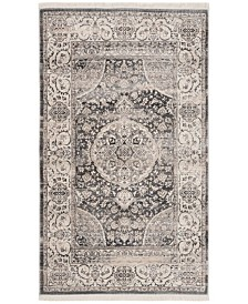 Safavieh Vintage Persian Dark Gray and Ivory 3' x 5' Area Rug