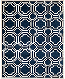 "Safavieh Claremont Grape and Blue 6'7"" x 6'7"" Square Area Rug"