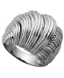 925 Sterling Silver Knot Wrap Band Ring