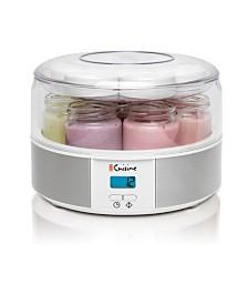 Euro Cuisine YMX650 Digital Yogurt Maker - With 7 Glass Jars