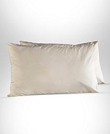 Enchante Home Plain 2 pieces Turkish Cotton Queen Pillow Case Set