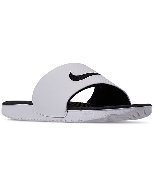 189c911d683d Nike Men s Kawa Slide Sandals from Finish Line   Reviews - Finish ...