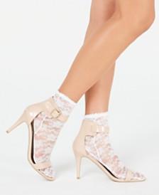 HUE® Lace Anklet Socks