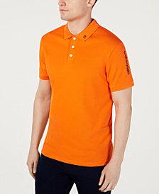 Calvin Klein Men's Athleisure Regular-Fit Logo Embroidered Pima Cotton Polo Shirt