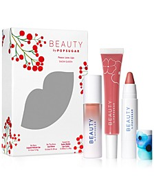 3-Pc. Peace Love Lips Set
