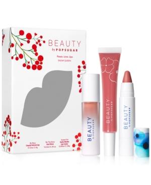 Beauty by Popsugar 3-Pc. Peace Love Lips Set
