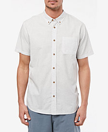 Jack O'Neill Men's Salton Short Sleeve Woven Shirt