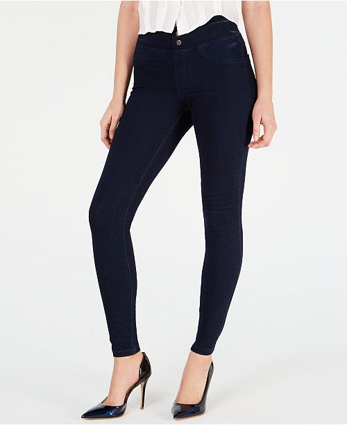 Hue Women's Original Smoothing Denim Leggings, Created for Macy's