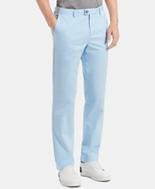 Calvin Klein Men's Refined Stretch Classic Fit Chinos