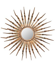 Safavieh Sun Mirror in Copper