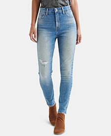 Lucky Brand Bridgette Distressed Capri Jeans