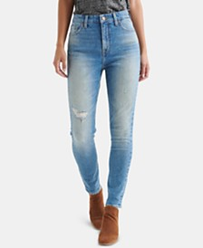 Lucky Brand Bridgette Distressed Capri Jeans