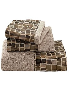 Popular Bath Mosaic 3-Pc. Towel Set