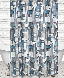 Popular Bath Artful Mosaic Shower Curtain