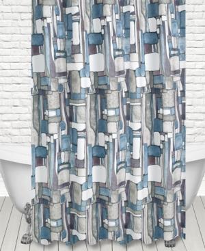 Popular Bath Artful Mosaic Shower Curtain Bedding