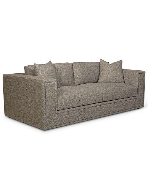"Furniture Dulovo 90"" Fabric Sofa, Created for Macy's"