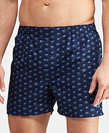 Polo Ralph Lauren Men's Classic Woven Cotton Boxers, 3-Pk.
