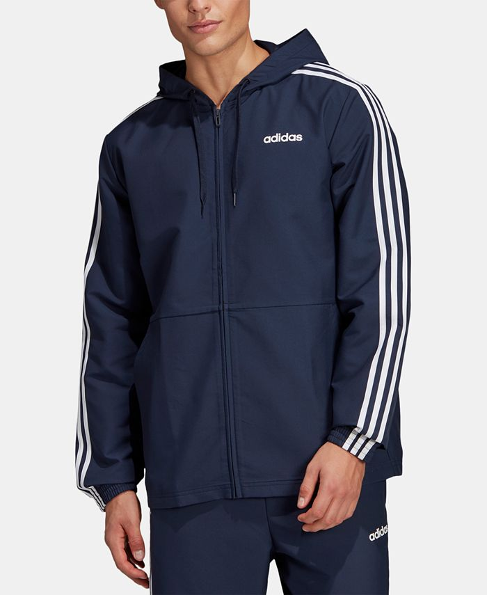 adidas - Men's Essentials Hooded Windbreaker