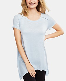 Jessica Simpson Crew-Neck Nursing Top