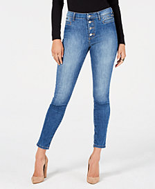 GUESS Studded 1981 Skinny Jeans