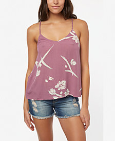 O'Neill Juniors' Dallie Floral-Print Tank Top