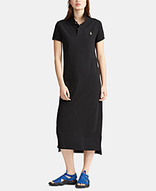Polo Ralph Lauren Cotton Polo Shirtdress