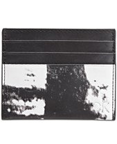 5f80140e4a9a Calvin Klein Men's Printed Card Case