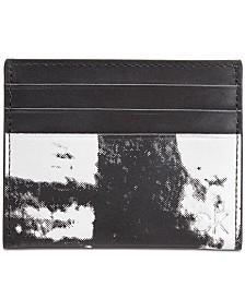 Calvin Klein Men's Printed Card Case