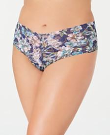 Hanky Panky Women's Plus-Size Felice Flower Lace Retro Thong 8N1921X