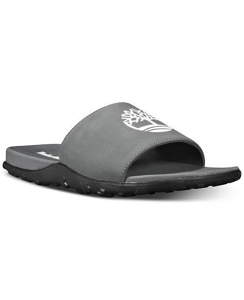 promo code da4e7 4796b Timberland Men s Fell Slide Sandals  Timberland Men s Fell Slide Sandals ...