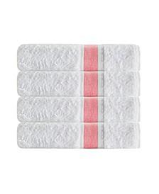 Unique 4-Pc. Turkish Cotton Bath Towel Set
