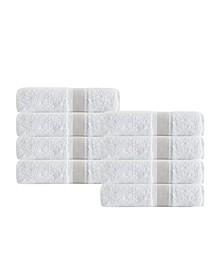 Unique 8-Pc. Turkish Cotton Hand Towel Set