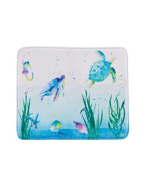 Saturday Knight Ltd. Watercolor Ocean Rug