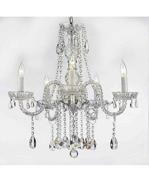 Harrison Lane Empress Crystal 5-Light Clear Crystal Chandelier