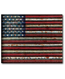 "American flag Gallery-Wrapped Canvas Wall Art - 16"" x 20"""