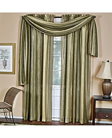 Ombre Window Curtain Scarf, 50x144