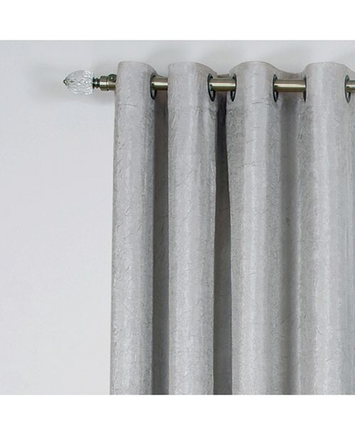 Achim Taylor Lined Grommet Window Curtain Panel, 50x63