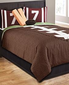 Field Goal 5 Pc Twin Comforter Set
