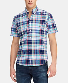 Polo Ralph Lauren Men's Classic-Fit Plaid Oxford Shirt