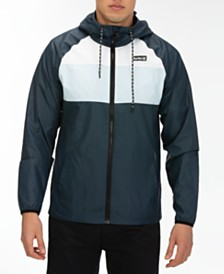 Hurley Men's Colorblocked Windbreaker