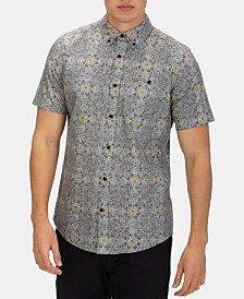 Hurley Men's Tile Mile Graphic Shirt