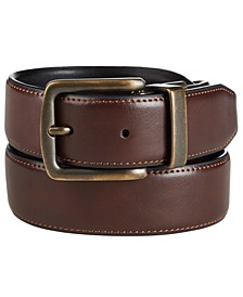 Men's Reversible Stretch Casual Belt, Created for Macy's