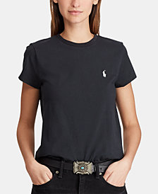 Polo Ralph Lauren Embroidered Cotton T-Shirt